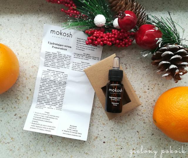Kosmetycznie: Mokosh - Ujędrniające serum Pomarańcza