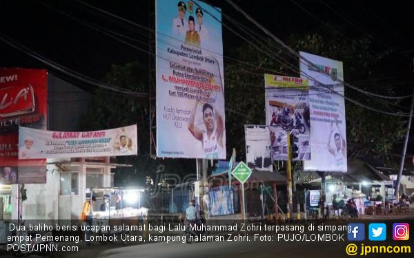 Baliho Promosi Hotel Berbintang pun Diganti Gambar Zohri