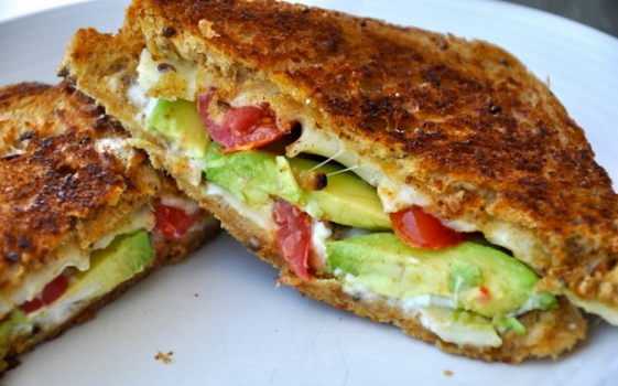Heavenly Scents Recipes : Avocado Tomato Grilled Cheese ...