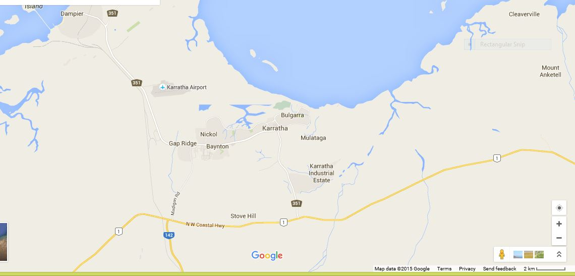Australia Map Karratha.Unidentified Aerial Phenomena Scientific Research Encounter At