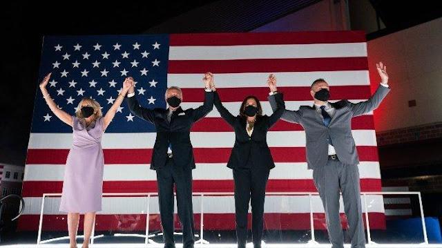 Update Pilpres AS 2020: Joe Biden Unggul, Tinggal Tunggu 6 Suara Lagi untuk Jadi Presiden AS
