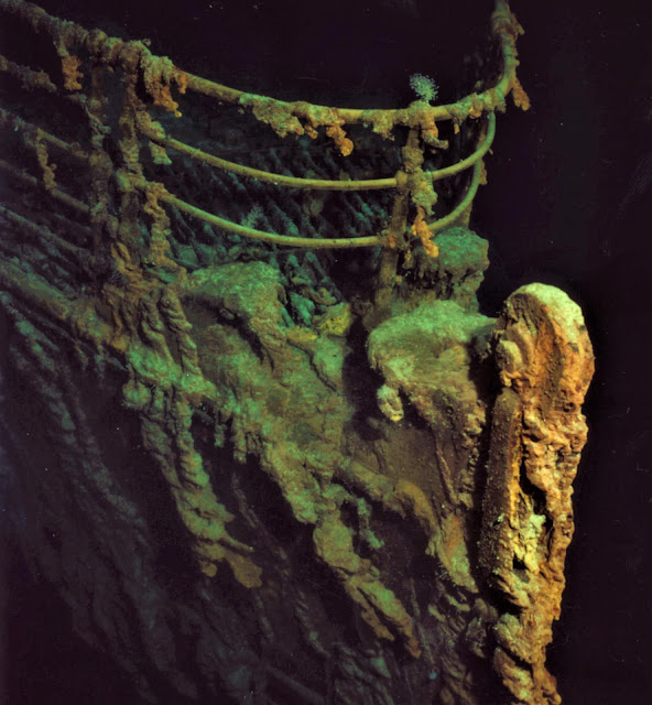 رحلة استكشافية لاستخراج التلغراف من سفينة تيتانيك