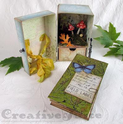 Lisa Hoel for Eileen Hull - September Nature Journals with Eileen's Sizzix dies!  #eileenhull #eileenhulldesigns #eileenhullsizzix #ehinspirationteam #eheducators #Sizzix #mymakingstory #diecutting #creativejuicefreshsqueezed