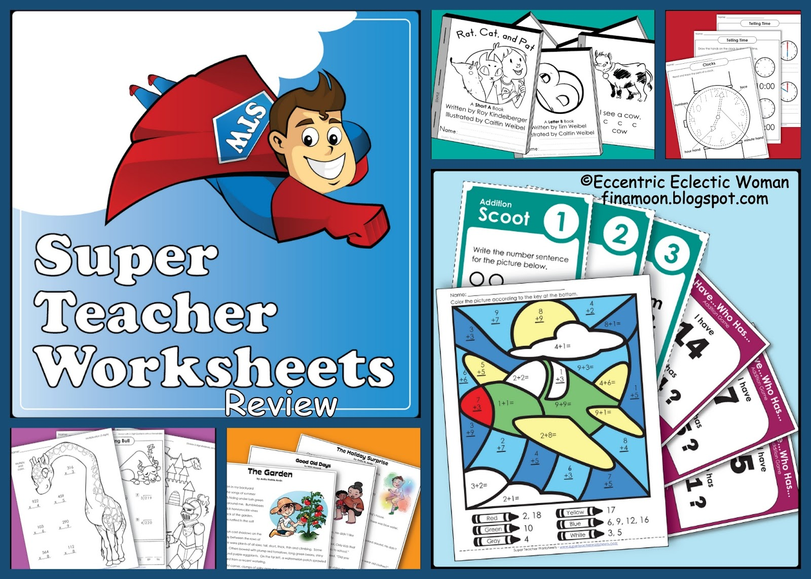 Super Teacher Worksheets Math Crossword Puzzle