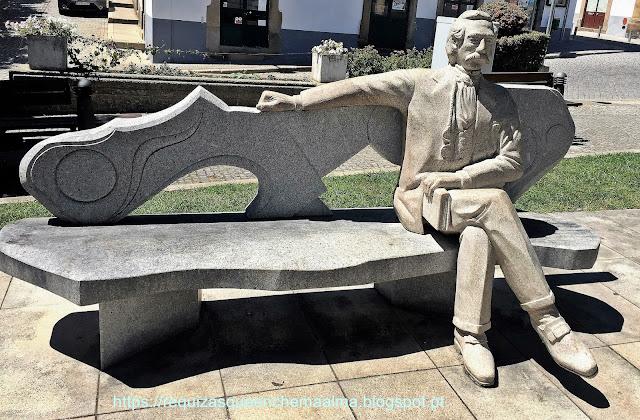 Escultura de Camilo Castelo Branco