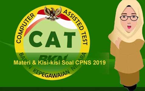 Kisi Kisi Soal Tes Skd Cpns 2019 Resmi Berdasarkan Permenpan Rb No 23 Tahun 2019 Abi Awam Bicara