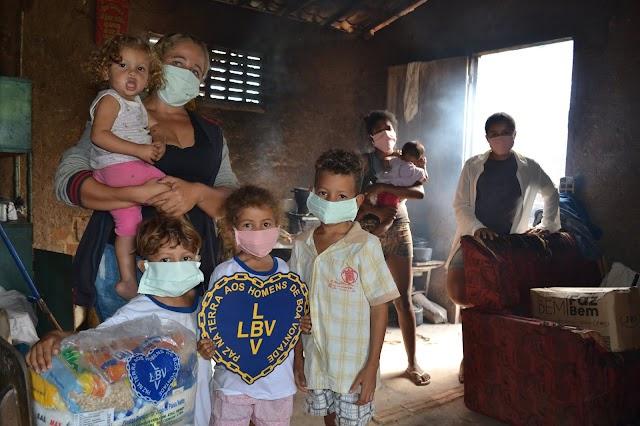 Celebrar o Natal é também ajudar as famílias mais vulneráveis que sofrem com os efeitos da pandemia do novo coronavírus
