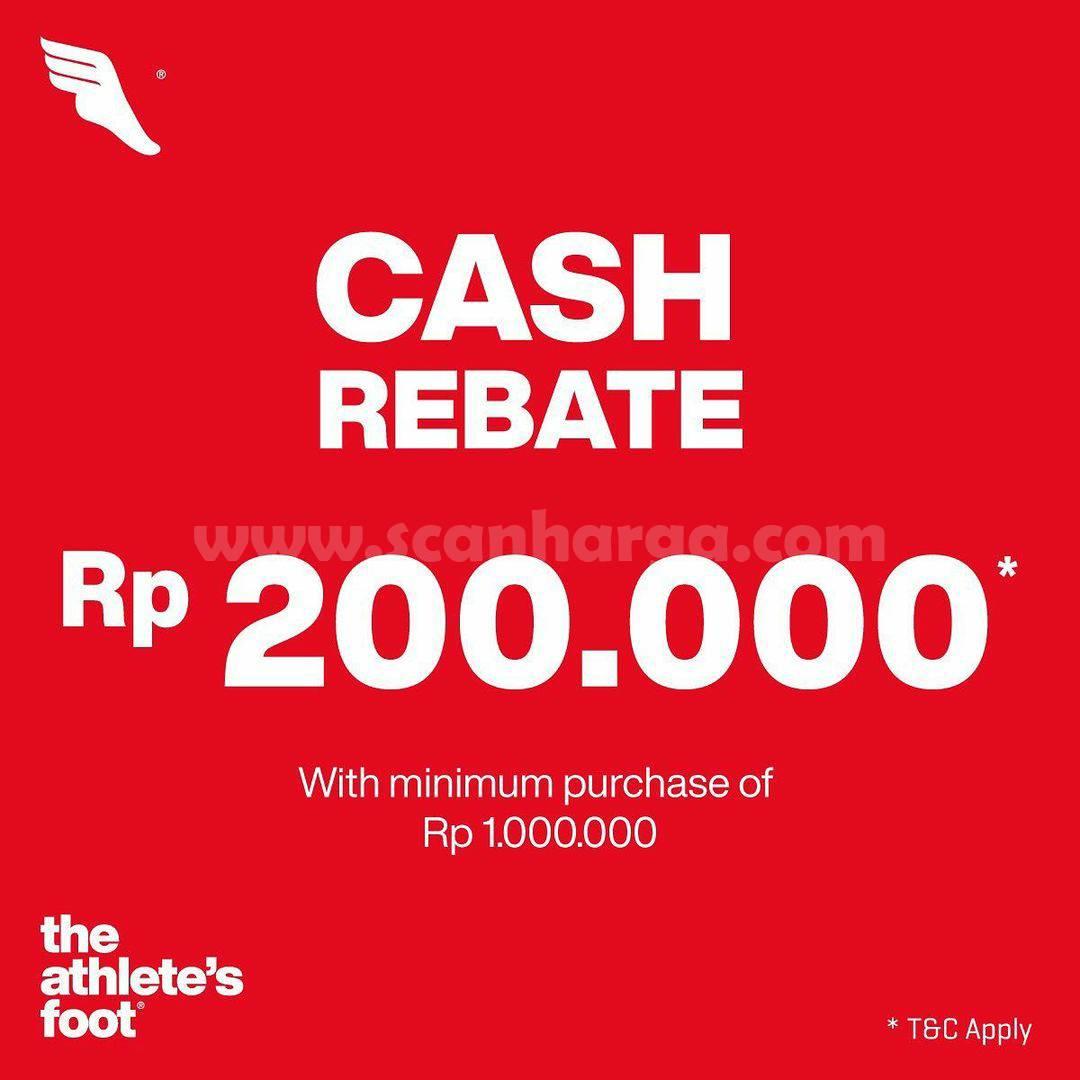 The Athlete's Foot Promo Weekend Special! Cash Rebate 200K