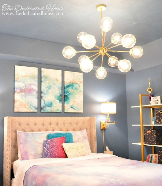 Glam Teen Bedroom Makeover