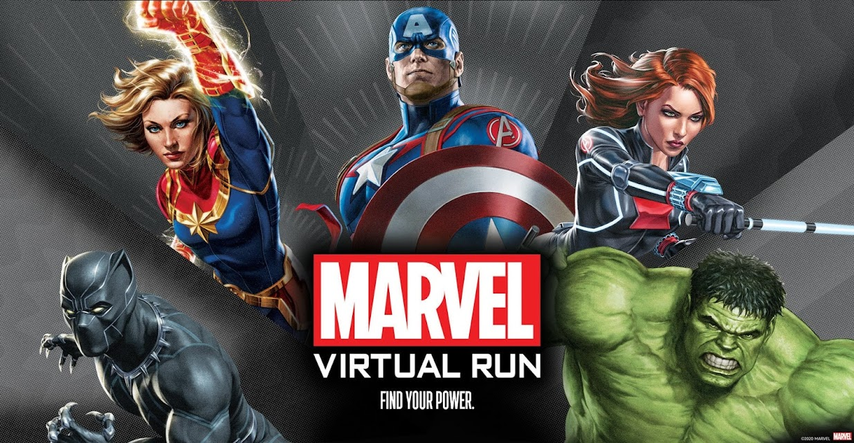 Marvel Virtual Run - Southeast Asia • 2021