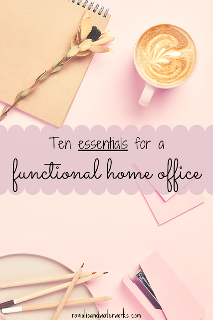 how to be productive working from home; home office necessities; what do I need in my home office