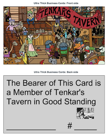 Your Tavern Membership Card is Free!