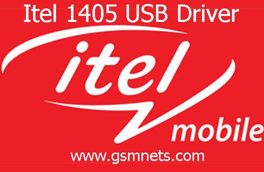 Itel 1405 USB Driver Download