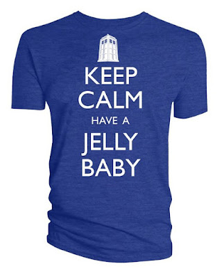 Keep Calm Have A Jelly baby Doctor Who T-shirt