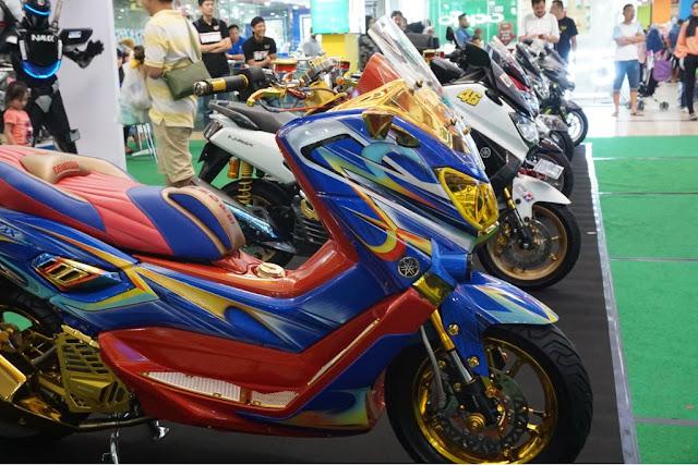 Kontes Yamaha Motor di Palembang Trade Centre