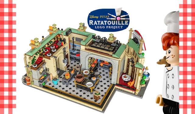 Ratatouille LEGO Project