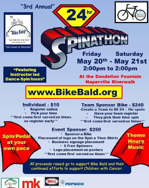 Bike Bald Spination in Naperville