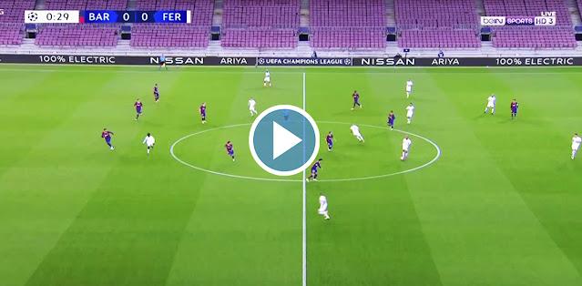 Barcelona vs Ferencvárosi TC Live Score