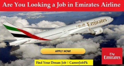 New Job Vacancy @ Emirates Airline