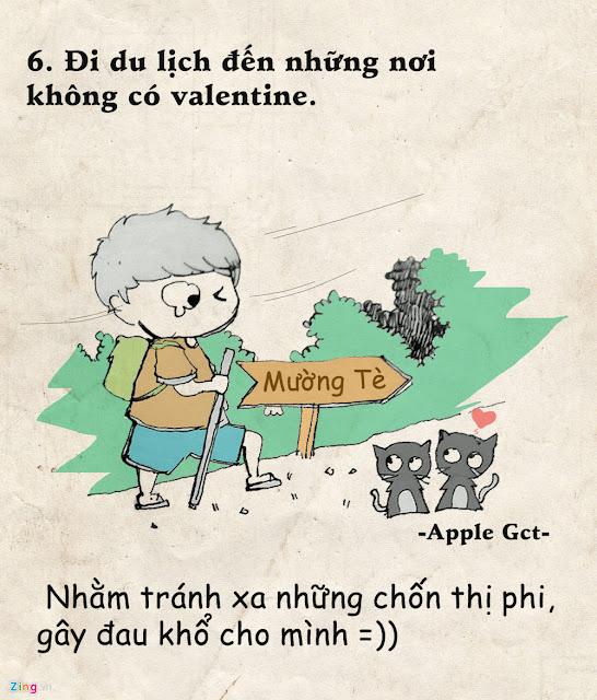 Ảnh chế Valentine FA, hình ảnh chế FA Valentine 14-2 hài vui