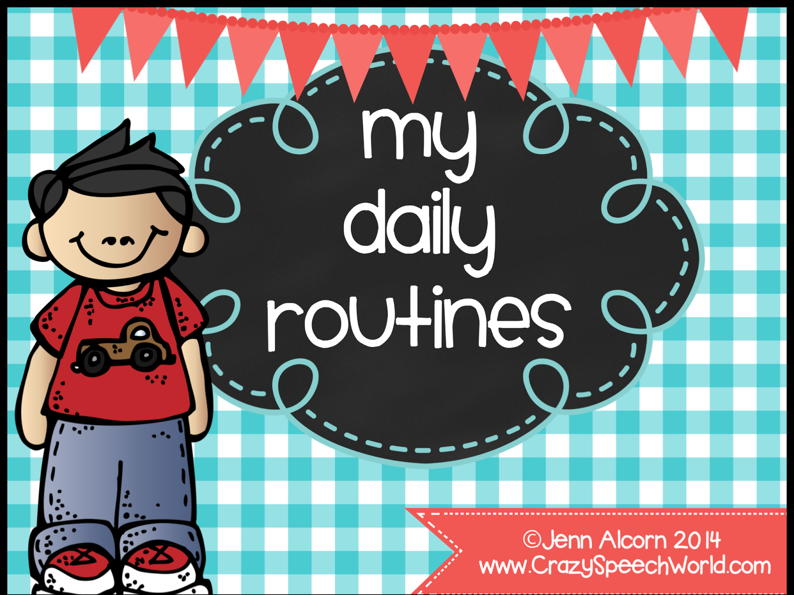 http://www.teacherspayteachers.com/Product/My-Daily-Routines-For-Speech-Therapy-Special-Education-Classrooms-1358999