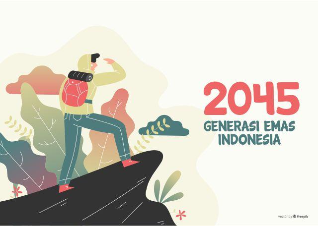 Generasi Emas INDONESIA 2045 Muslimat NU