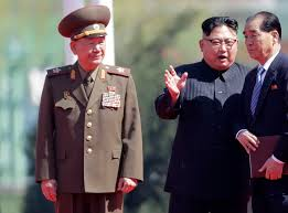 Kim Jong-un executes two senior officials