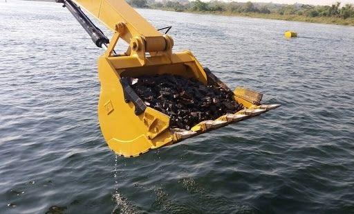 Derrocagem no canal não deve afetar atividades pesqueiras