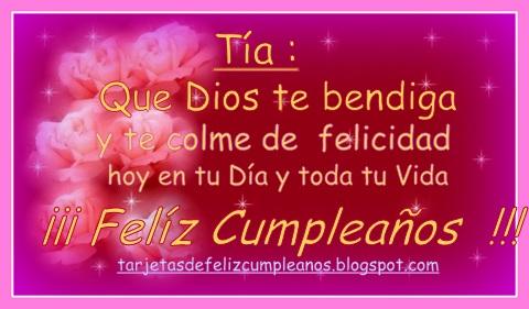 Feliz Cumpleanos Tia Para Facebook Imagui Seimur — feliz cumpleaños 03:17. imagui