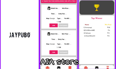 JayPubg Tournament App aia file for Kodular and earn 5$ Everyday