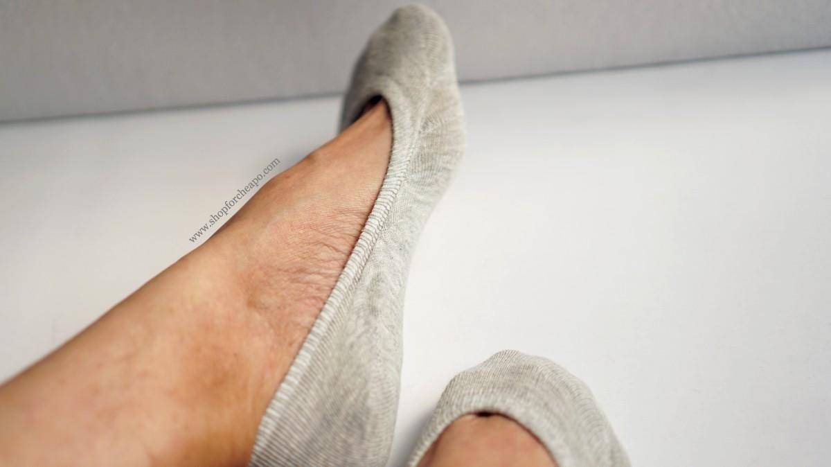muji wide toe secure fit cotton mix