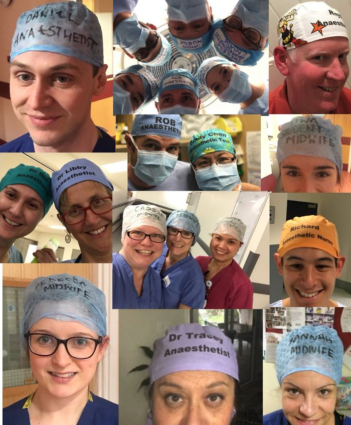 One Doctor's Unexpected Decision To Write His Name On His Scrub Cap Is Changing Safety In Hospitals Across The World