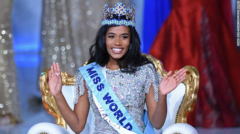 Miss Jamaica Toni-Ann Singh is crowned the 2019 Miss World