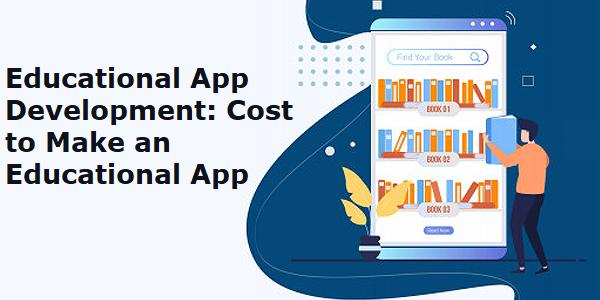 Educational App Development cost.
