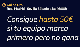 william hill Promo Real Madrid vs Sevilla 18 enero 2020
