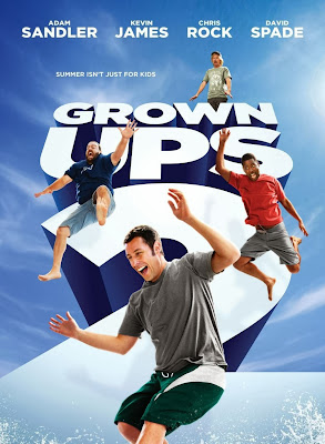 Poster Of Hollywood Film Grown Ups 2 (2013) In 300MB Compressed Size PC Movie Free Download At worldfree4u.com