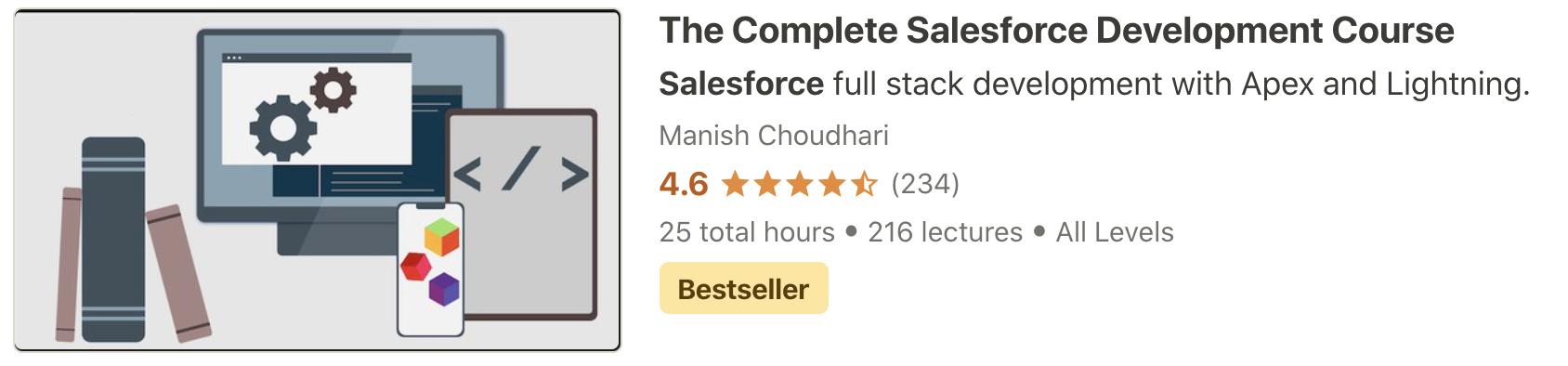 Salesforce Development Course