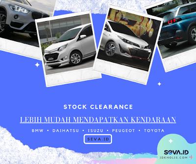 Stock Clearance SEVA ID Mobil Bekas