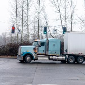 Truck in fleet being ELD compliant