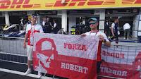 Robert Kubica Sektorówka Grand Prix Węgier 2018 F1