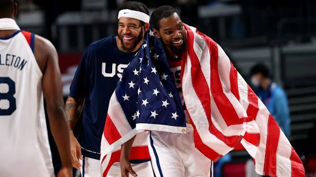 أولمبياد طوكيو: الولايات المتحدة تخطف المركز الاول في اليوم الأخير وأولمبياد متنوع بأحداثه