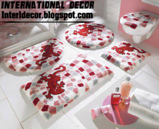 10 modern bathroom rug sets baths rug sets models colors. Black Bedroom Furniture Sets. Home Design Ideas
