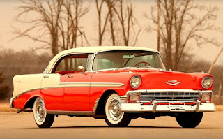 1956 Chevrolet Bel Air 4-Door Front Right