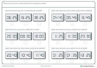fichas de matemática para quinto de educación primaria 5