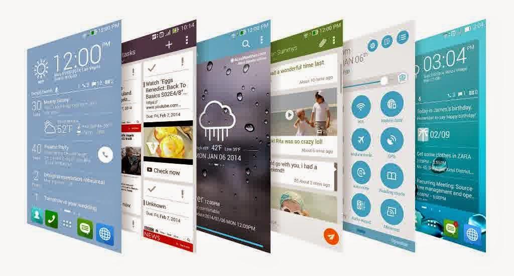 ASUS Zenfone Smartphone Android Terbaik ZenUI Launcher