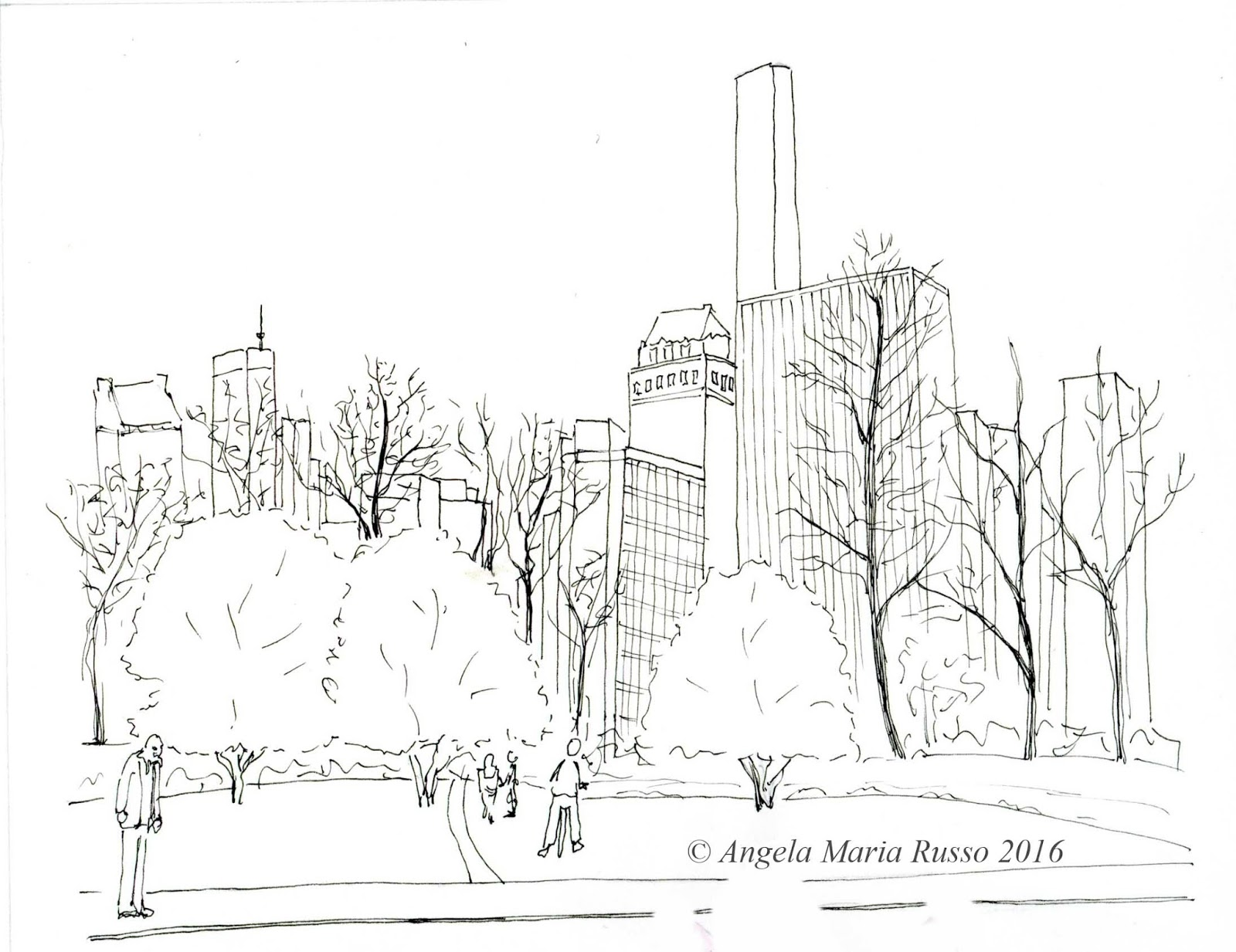 Angela maria russo new york city for Disegni new york
