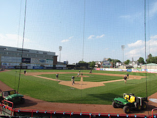 Home to center, Jerry Uht Park