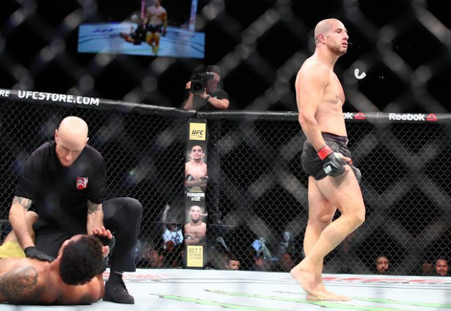 Gokhan Saki wins UFC debut with massive KO
