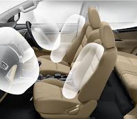 Mitsubishi All New Pajero Sport Dakar 4x2 Ultimate Fitur 7 SRS Airbags & Passenger Airbag Indicator