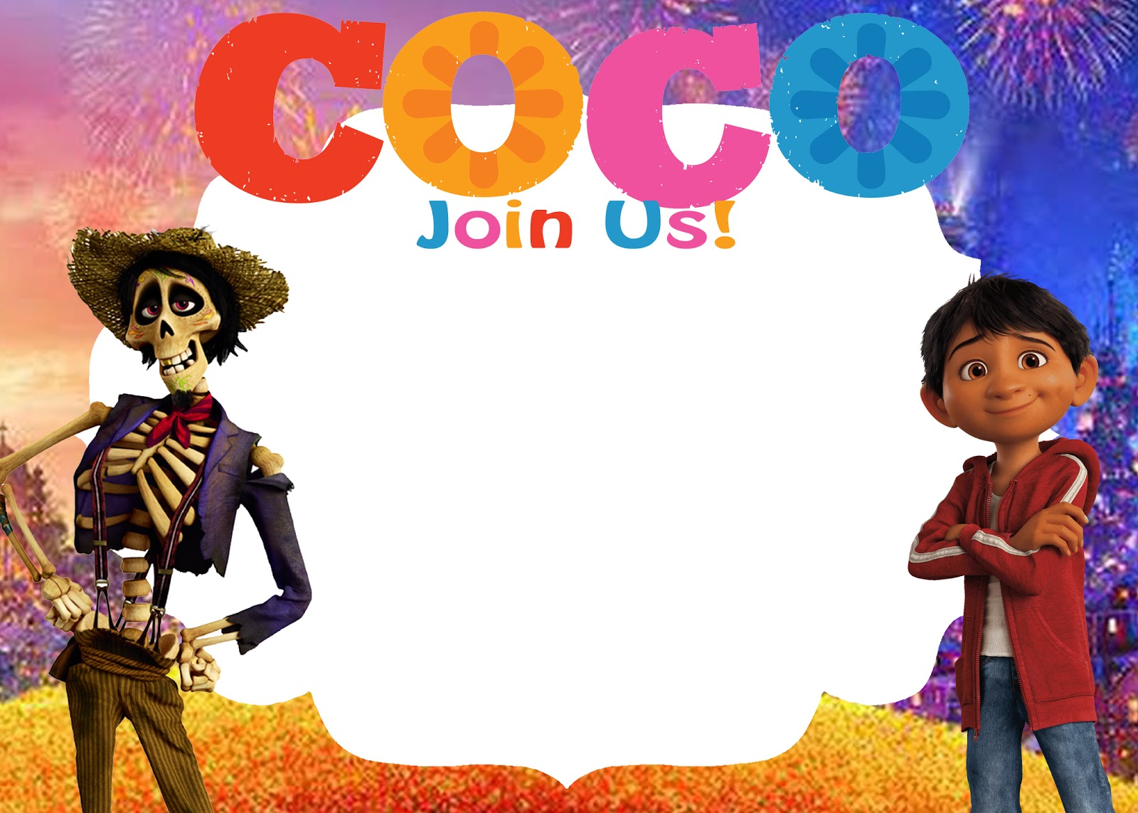 Daisy Celebrates Free Coco Movie Birthday Party Printable Files